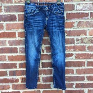 Rock Revival Denim - Rock Revival Charlotte Capri Jeans Buckle 25