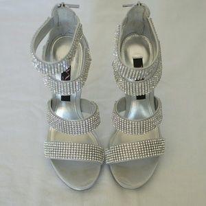 Nina Shoes - Nina Bridget silver heel