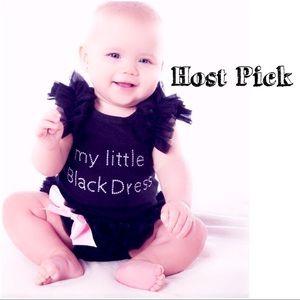 Other - 🎉🎉HP🎉🎉Little black dress onesie