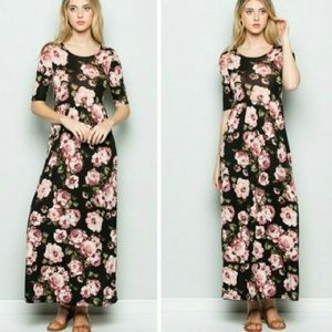 1feced4660c4 Fashionomics Dresses | Floral Maxi Dress | Poshmark