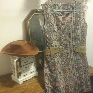 Yours Clothing Dresses & Skirts - FINAL SALE Vintage Boho Button-Up Dress