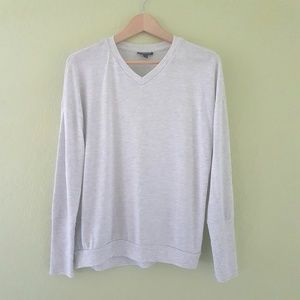 NWOT Topshop Long Sleeve V-neck
