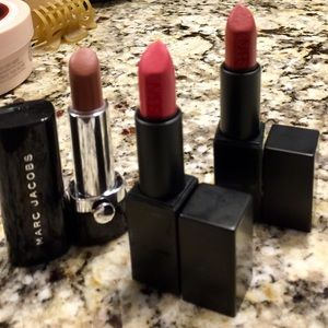 NARS Other - 2 NARS AUDACIOUS LIPSTICKS & MARC JACOBS LIPSTICK