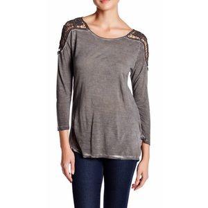 Dantelle Tops - Vintage Lace T-Shirt