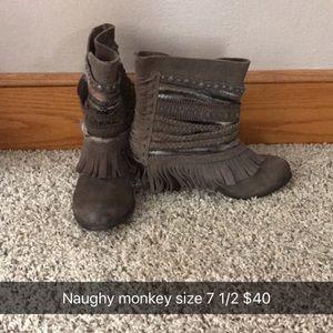 naughty monkey Shoes - Naughty Monkey boots