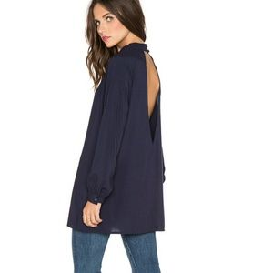 blaque label Tops - REVOLVE blaque label cut out top in blue  Small