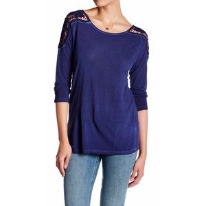 Dantelle Tops - Antique Lace T-Shirt