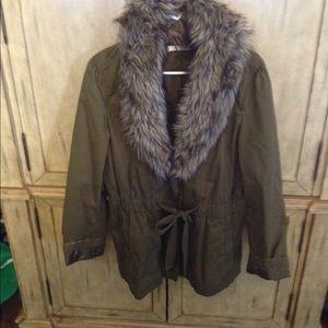 LOFT Jackets & Blazers - Loft fur coat