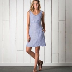Horny Toad Dresses & Skirts - TOAD & Co - Linette Linen Tank V-Neck Dress