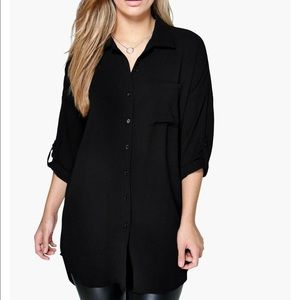 Boohoo Plus Tops - BooHoo button down blouse size US 18