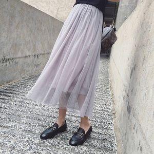 Dresses & Skirts - Mesh skirt