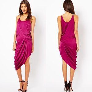 ⭐️HP⭐️ Halston Heritage  Asymmetrical Dress