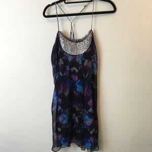 Free People Dresses & Skirts - Free People Sequin Bib Colorful Tunic Dress
