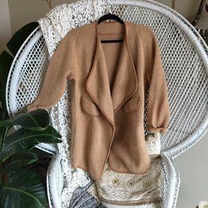 Jackets & Blazers - Knit cardigan sweater coat