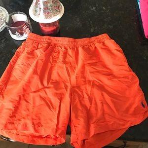 Polo by Ralph Lauren Other - Orange polo swim trunks