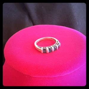 Jewelry - VTG Silver Topaz Ring