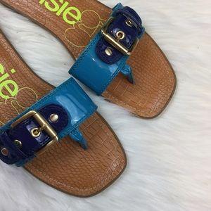 Kensie Girl Shoes - kensiegirl Women's Allie Flat Buckle Sandal
