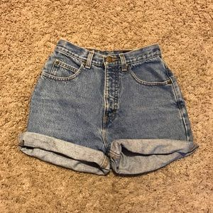Eddie Bauer Pants - High waisted jean shorts