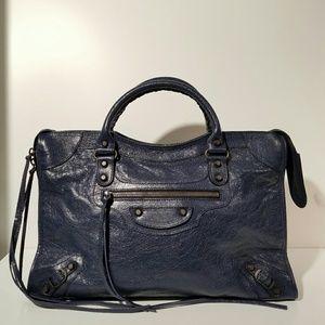 Balenciaga Handbags - Balenciaga Classic City Blue