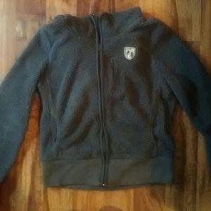American Eagle Outfitters Tops - American eagle gray hooded sweatshirt