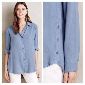 Anthropologie Tops - 🆕{Listing} Clith & Stone Side Button Tunic