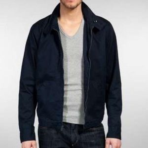 Vince Other - VINCE Navy blue twill Moto Jacket