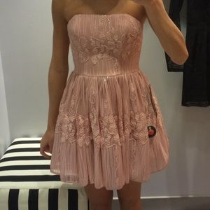 Sherri Hill Dresses & Skirts - BEAUTIFUL Pink sequin lace Bebe Dress