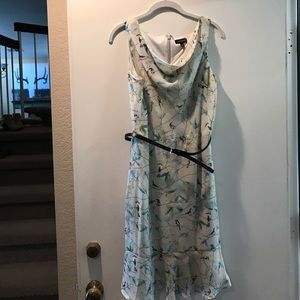 The Limited Floral Bird Dress