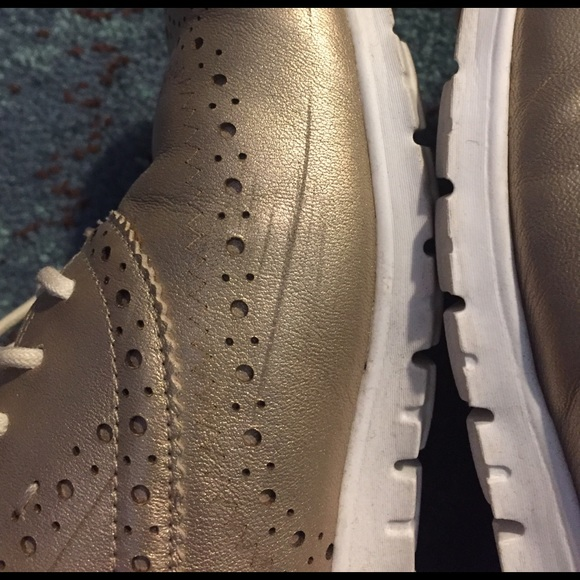 how to clean cole haan zerogrand shoes