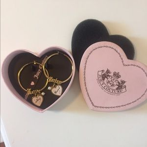 Juicy couture hoops!