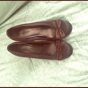 Wild Diva Shoes - Brown high heels shoes with bow