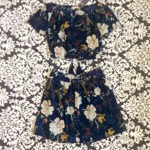 Abercrombie & Fitch Dresses & Skirts - A&F Floral 2 Piece Set
