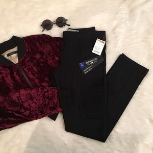 Parasuco Pants - NWT Parasuco black mid-rise leggings