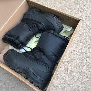 Northside Other - Kids black snow boots size 12
