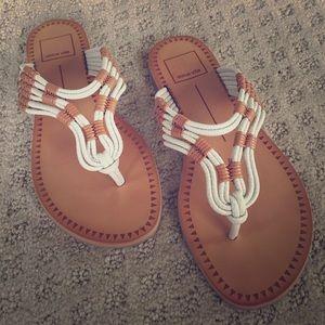 Dolce Vita Jonas sandals/ strappy flip flop