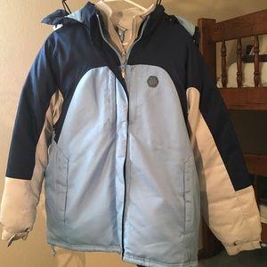 Ladies Winter Coat w/ Detachable Liner