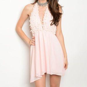 ASOS Dresses & Skirts - New light pink petal Easter spring dress