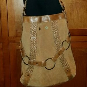 Scully   Handbags - New Scully Nutmeg Brown Leather Handbag Tote Bag