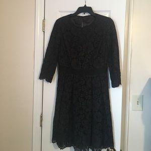 black lace ted Baker Dress