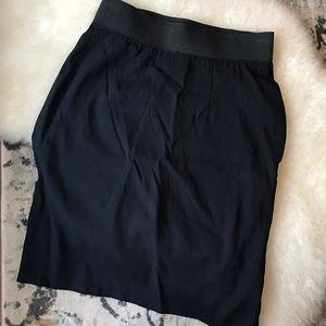 Elizabeth and James Skirts - Elizabeth and James silk skirt