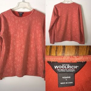 Woolrich long sleeve crewneck shirt