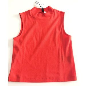 H&M Tops - NWT Basic Knit Top in red