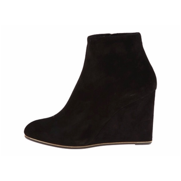 Salvatore Ferragamo Leather Wedge Ankle Boots outlet low price yn2fP