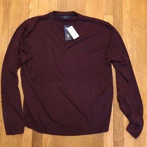 U.S. Polo Assn. Other - Men's US polo association burgundy sweater