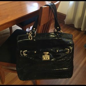 Talbots Handbags - Black Leather Purse