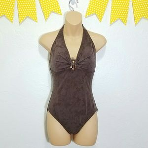 Magicsuit Other - Spanx MagicSuit Suede Look-a-like One Piece G2