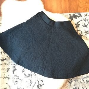 Navy blue swing skirt!