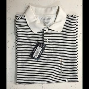 Roundtree & Yorke Other - CLEARANCE B&W striped polo shirt big man 3X