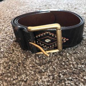Preston & York Accessories - Brown Genuine Leather Belt