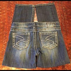 Silver Jeans Denim - Silver Jeans Santorini Capris Size 29